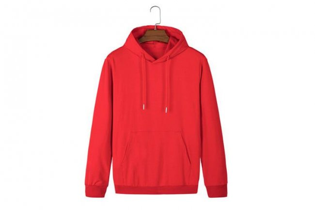 RED KOREAN EDITION HOODIE