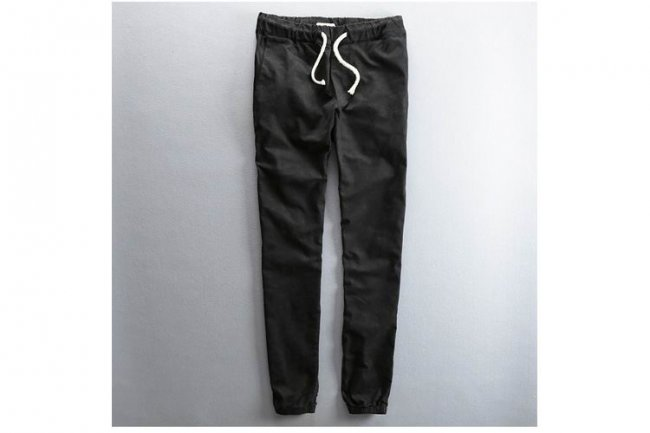 BLACK LOOSER SPORTS PANTS