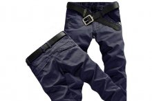 ROYAL BLUE MAN CASUAL PANTS