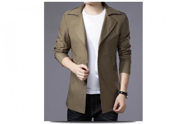 BEIGE FASHION JACKET