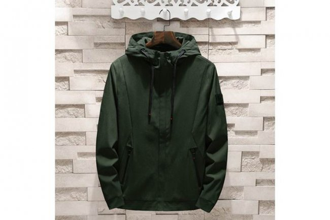 DARK GREEN FASHION JACKET
